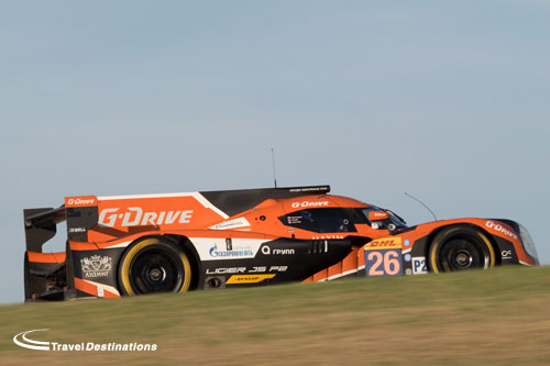G Drive Racing at the Circuit of the Americas