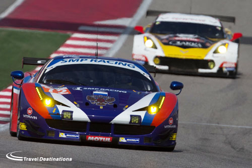 SMP Racing at the Circuit of the Americas