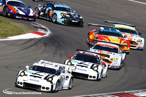 GTE Pro field at the FIA WEC 6 Hours of the Nurburgring
