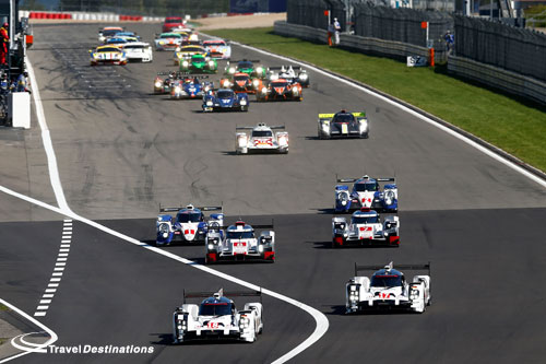 Start of the FIA WEC 6 Hours of the Nurburgring