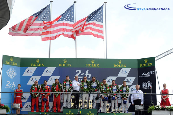 Ford win at Le Mans