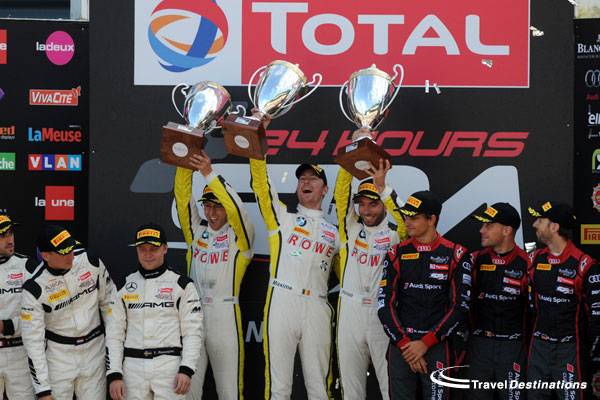 Podium at Spa 24hrs