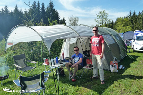 Travel Destinations' Trackside Camping