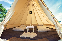 TRAVEL DESTINATIONS' EVENT TENTS