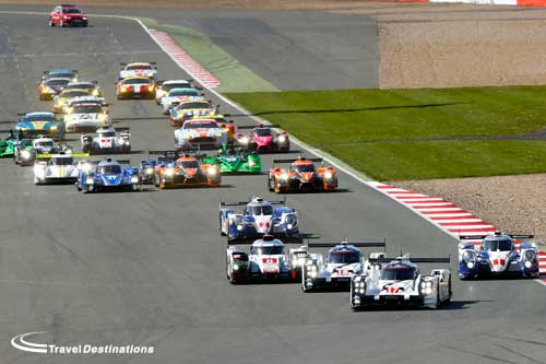 Audi survive late scare to take win at Silverstone
