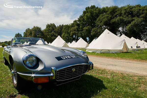 Glamping at Le Mans Classic