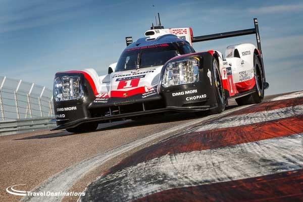 Porsche Le Mans prototype 2017