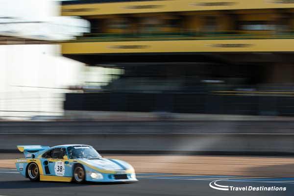 Porsche 935 at Le Mans classic