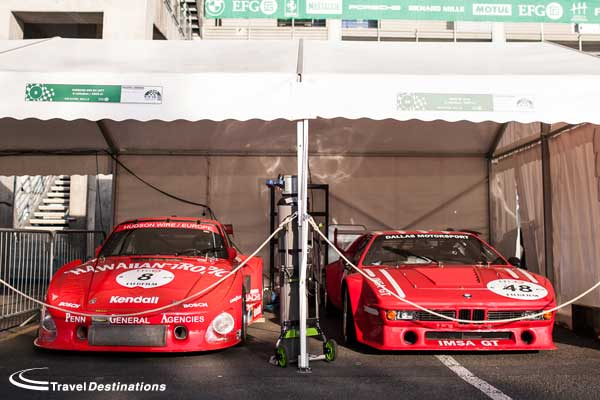 Porsche and BMW at Le Mans Classic