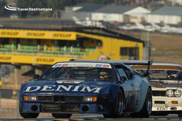BMW M1 at Le Mans Classic