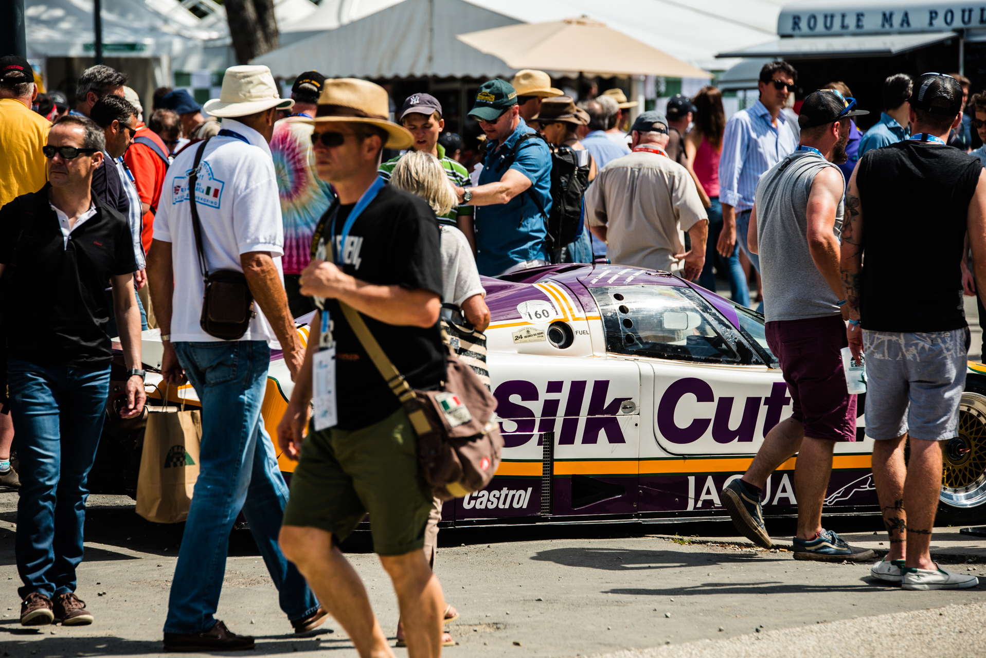 Button racing Jaguar XJR-9