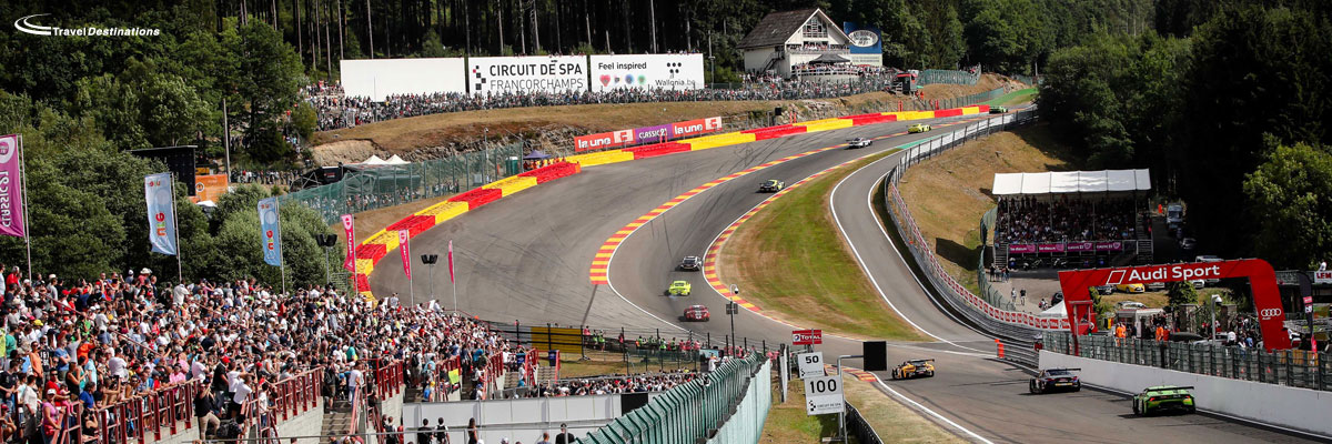Travel Accommodation And Tickets For The 24 Hours Of Spa