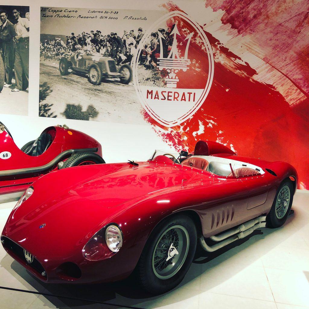 Maserati 300S Louwman museum