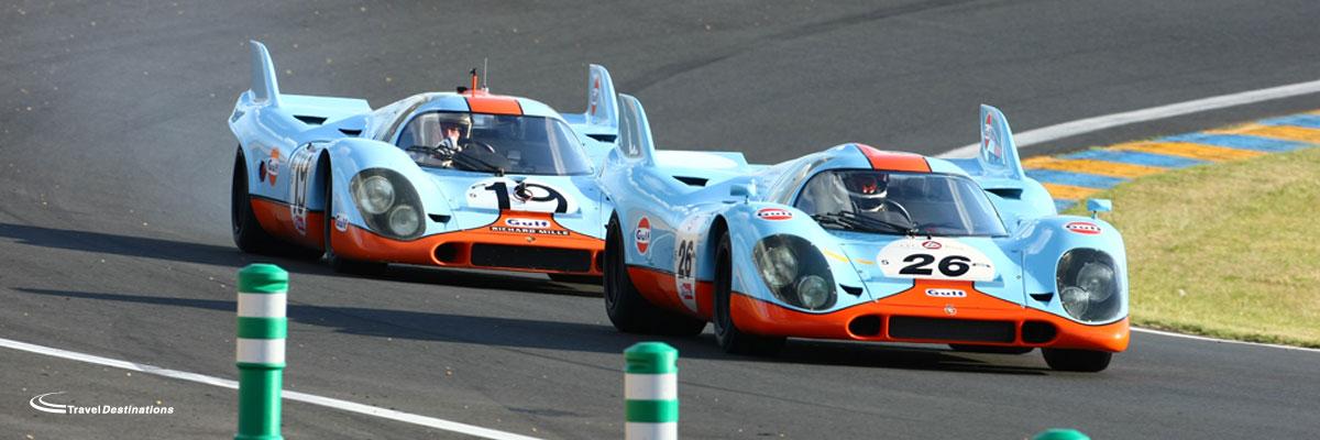 Porsche Tours to Le Mans Classic 2021 slide 1