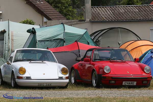 Private Trackside Camping at Le Mans Classic