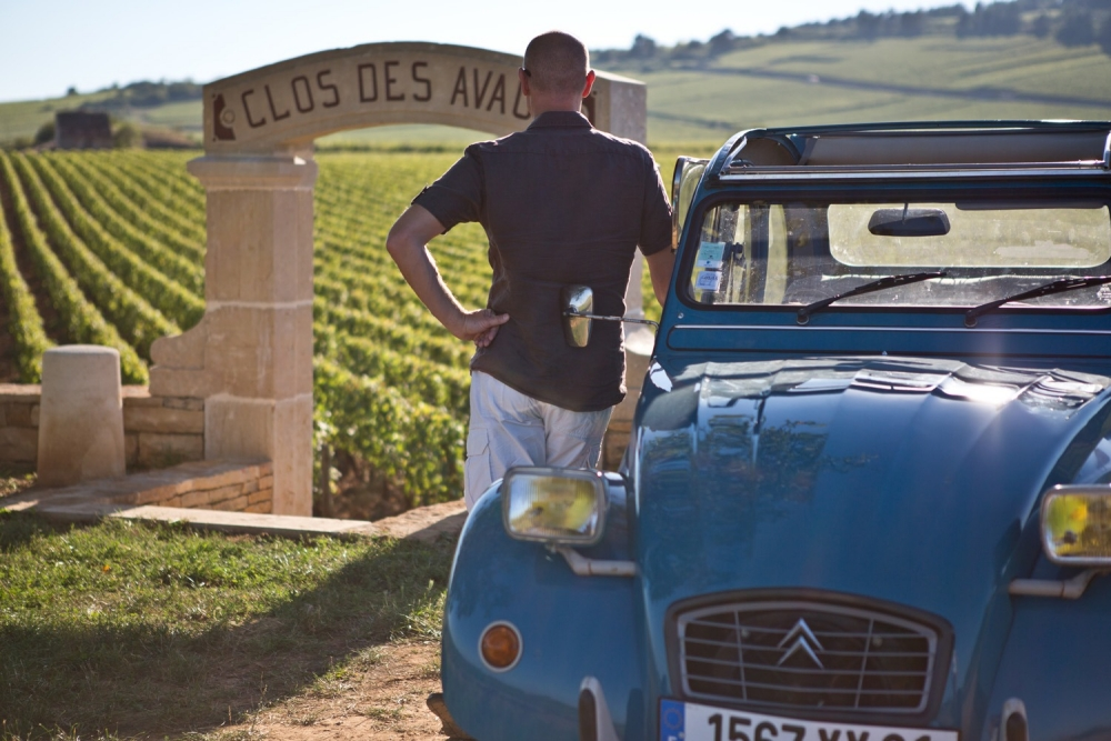 2CV Tours in Burgundy