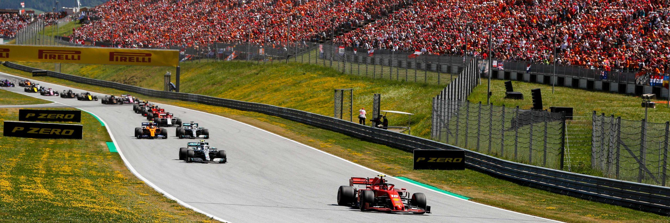Formula 1 Austrian Grand Prix slide 1