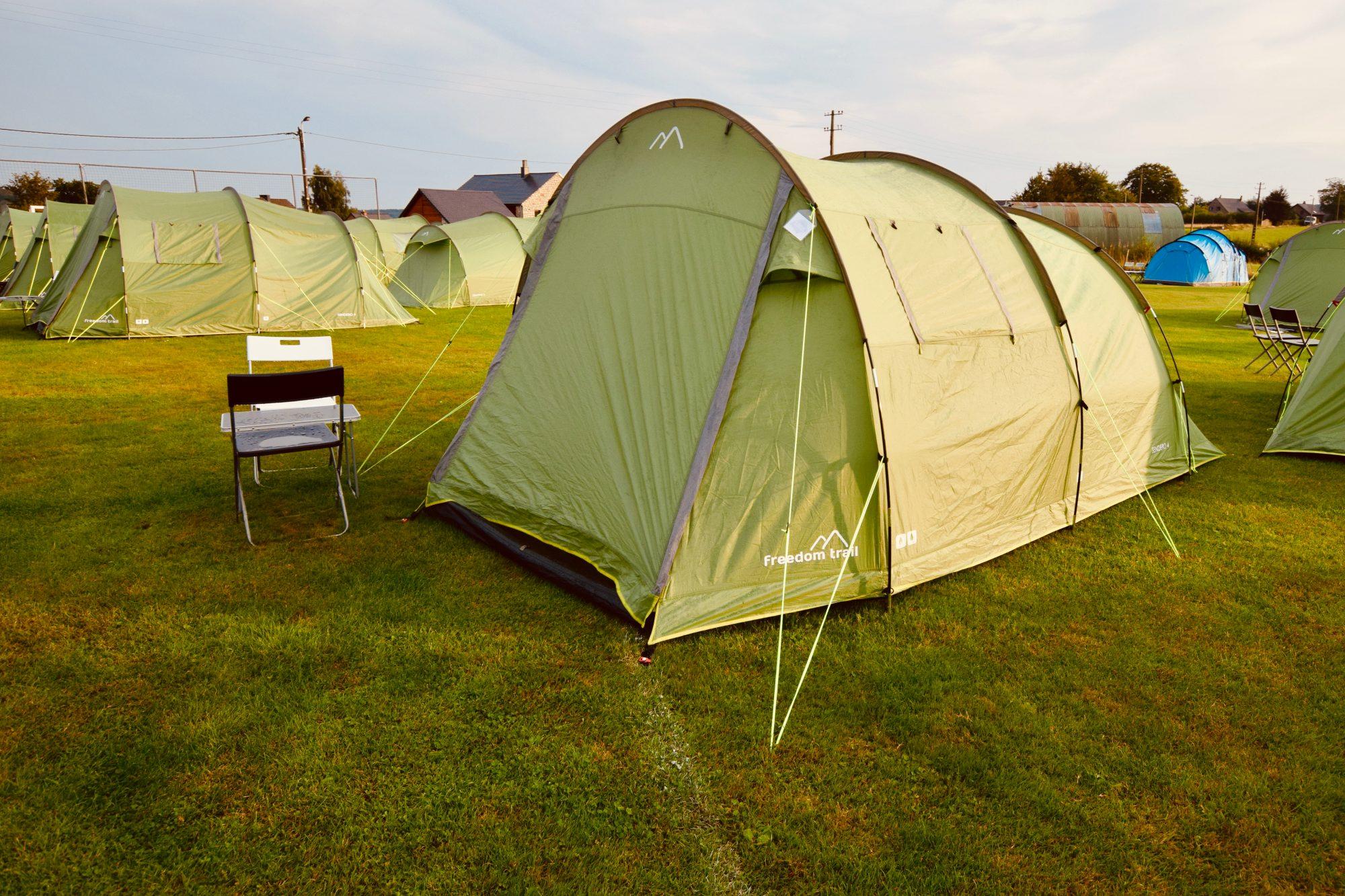 Private Pre-Erected Tents