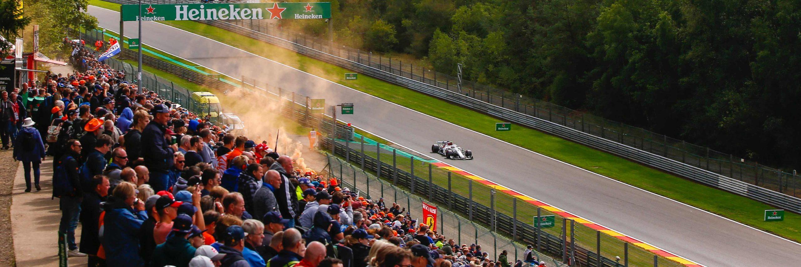 Formula 1 Belgian Grand Prix slide 1