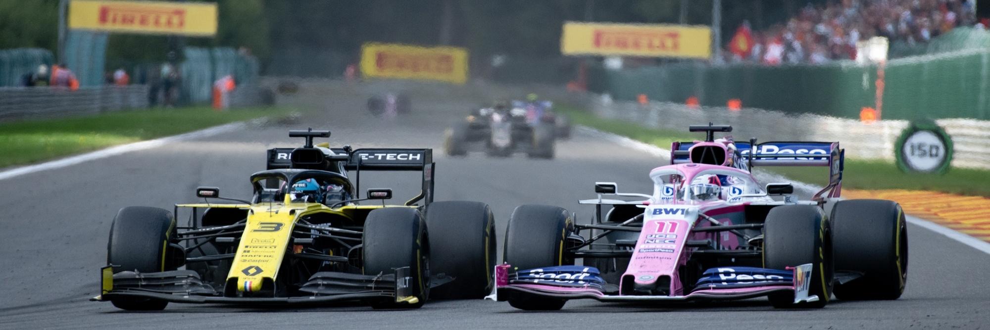 Formula 1 Belgian Grand Prix slide 2