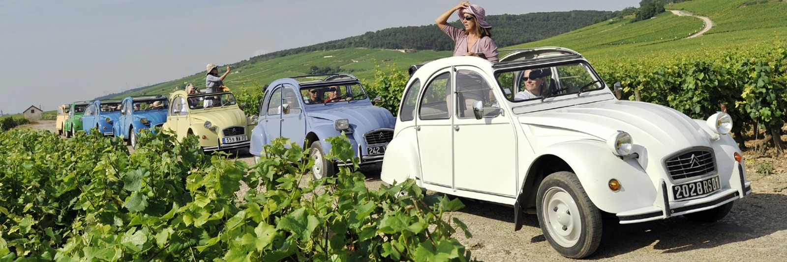 2CV Tours in Burgundy slide 1